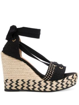 High Wedge Heel Sandals - Castañer