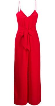 Straight-fit Jumpsuit With Front Knot - Armani Exchange