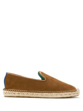 Espadrille Nobuck Com Ráfia - Blue Bird Shoes