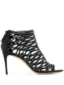 Cage Ankle Boots - Casadei