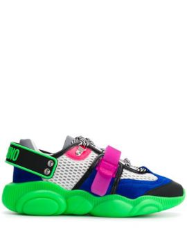 Fluo Teddy Sneakers - Moschino
