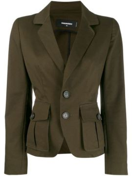 Classic Fitted Blazer - Dsquared2
