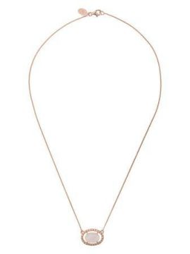 Oval Quartz Necklace - V Jewellery