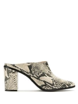 Ankle Boot Mule Animal Print - Schutz
