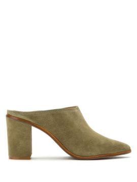 Ankle Boot Mule Em Suede - Schutz