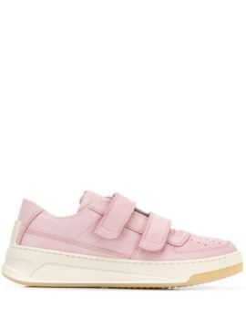Steffey Nubuk Leather Sneakers - Acne Studios