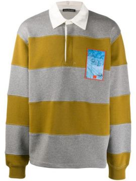 Striped Rugby Polo Shirt - Acne Studios