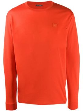 Face Patch Long-sleeved T-shirt - Acne Studios