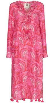 Cerelina Batik-print Midi Dress - Figue