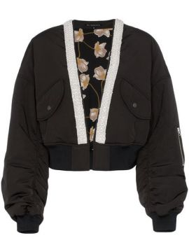 Jaqueta Bomber Cropped - Blindness