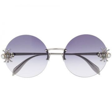 Jewelled Spider Sunglasses - Alexander Mcqueen Eyewear