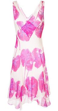 Floral Flared Midi Dress - Dvf Diane Von Furstenberg