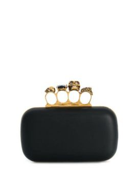 Four Ring Clutch - Alexander Mcqueen