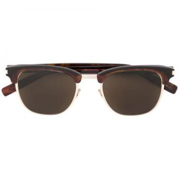 Clubmaster Frame Sunglasses - Saint Laurent Eyewear