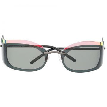 Layered Style Sunglasses - Courrèges