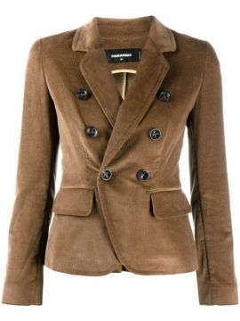 Double-breasted Corduroy Blazer - Dsquared2