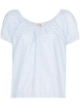 Camille Gingham Blouse - Eve Denim