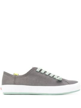 Flat Lace-up Sneakers - Camper