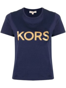 Camiseta Com Estampa De Logo - Michael Kors Collection