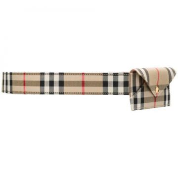 Vintage Check Belt Bag - Burberry