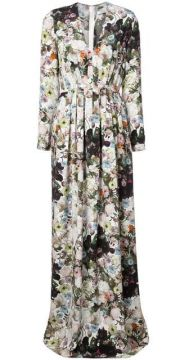 Long Floral Dress - Adam Lippes