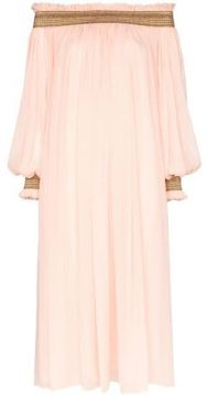 Off-the-shoulder Midi-dress - Carolina Herrera