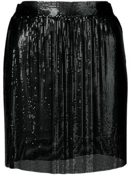Sequin Embroidered Skirt - Fannie Schiavoni