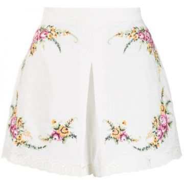 Short Com Estampa Floral - Zimmermann