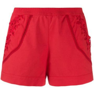 Short Com Bordado Lateral - Ermanno Scervino