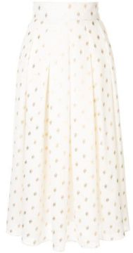 Disco Polka-dot Midi Skirt - Bambah
