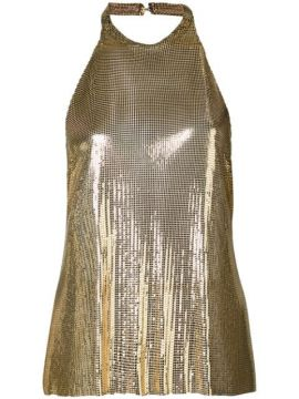 Backless Sequined Top - Fannie Schiavoni