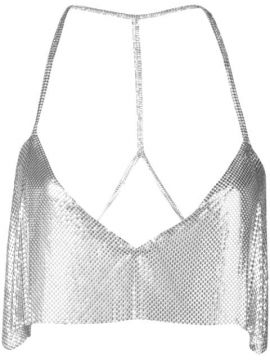 Sequin Embroidered Top - Fannie Schiavoni