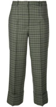 Tartan Print Trousers - Michael Kors Collection