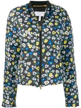 Floral-print Quilted Jacket - Escada Sport