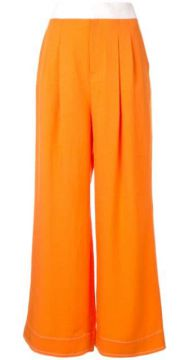 Wide Leg Trousers - Comme Moi