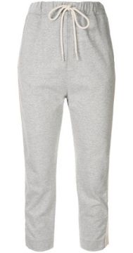 Cropped Track Trousers - Bassike