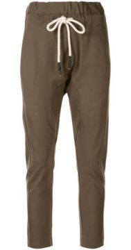 Dropped Crotch Track Trousers - Bassike