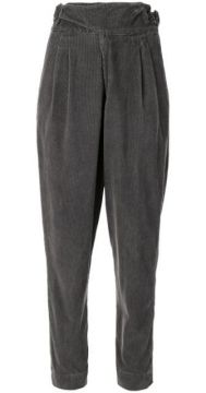 Vintage Tab Detail Cord Trousers - Bassike