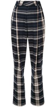 Plaid Tailored Trousers - Bassike