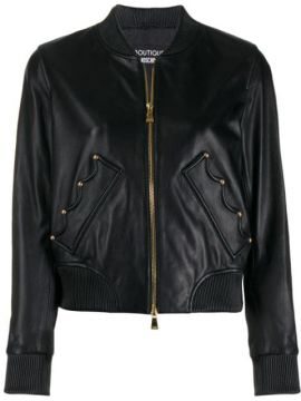Crown Bomber Jacket - Boutique Moschino