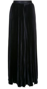 Pleated Palazzo Trousers - Amur