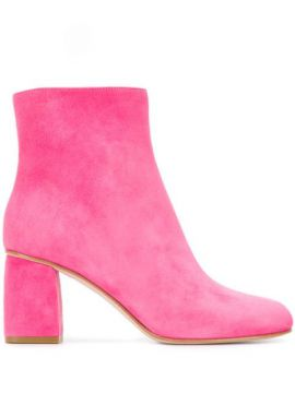 Red(v) Ankle Booties - Red Valentino