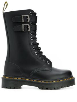 Mid-calf Lace-up Boots - Dr. Martens