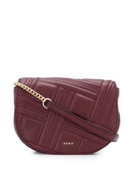 Quilted Cross Body Bag - Dkny