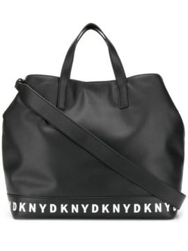 Logo Taped Tote - Dkny