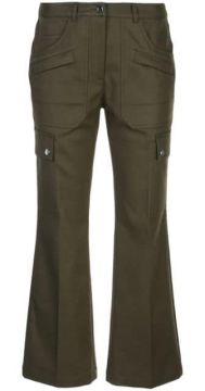 Flared Cropped Trousers - Michael Kors Collection