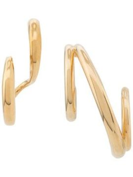 Triplet And Curl Earring - Charlotte Chesnais