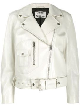 Relaxed Fit Biker Jacket - Acne Studios