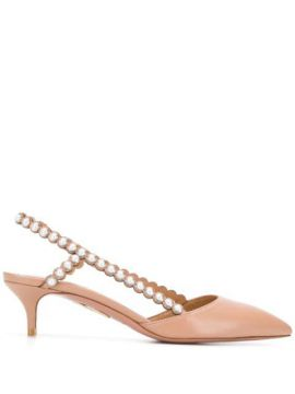 Leather Pumps - Aquazzura