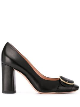 Claire Chunky Heel Pumps - Bally
